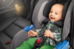 bébé en voyage sécuritaire